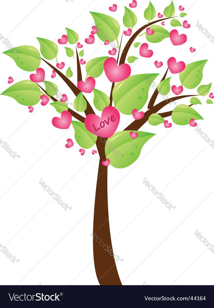 Spring tree vector image