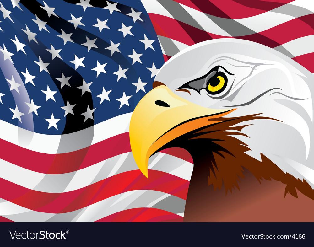Flag illustration Vector Image