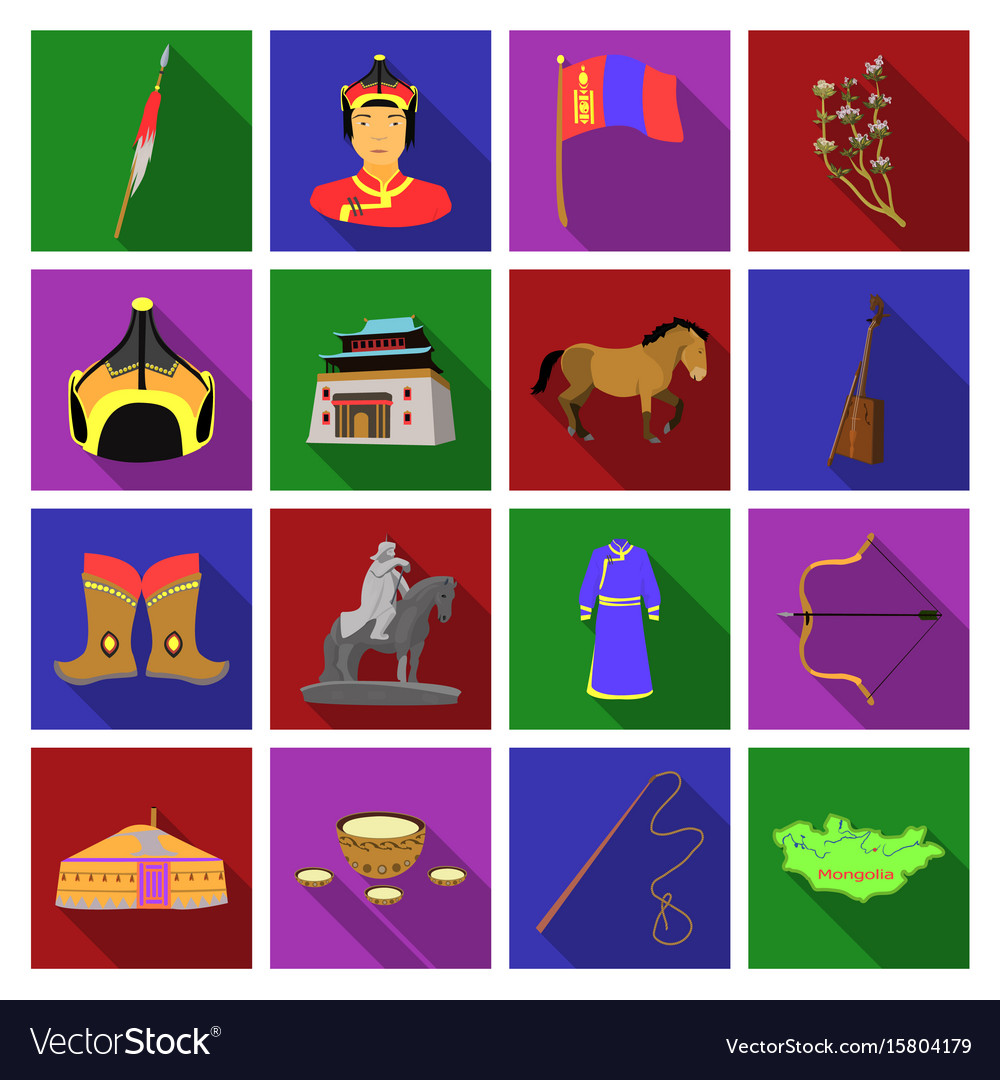 Genghis khan a monastery yurt and other sights vector image biocorpaavc Images