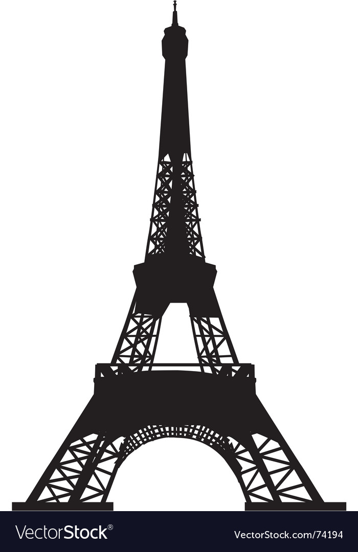 Eiffel tower royalty free vector image vectorstock eiffel tower vector image thecheapjerseys Image collections