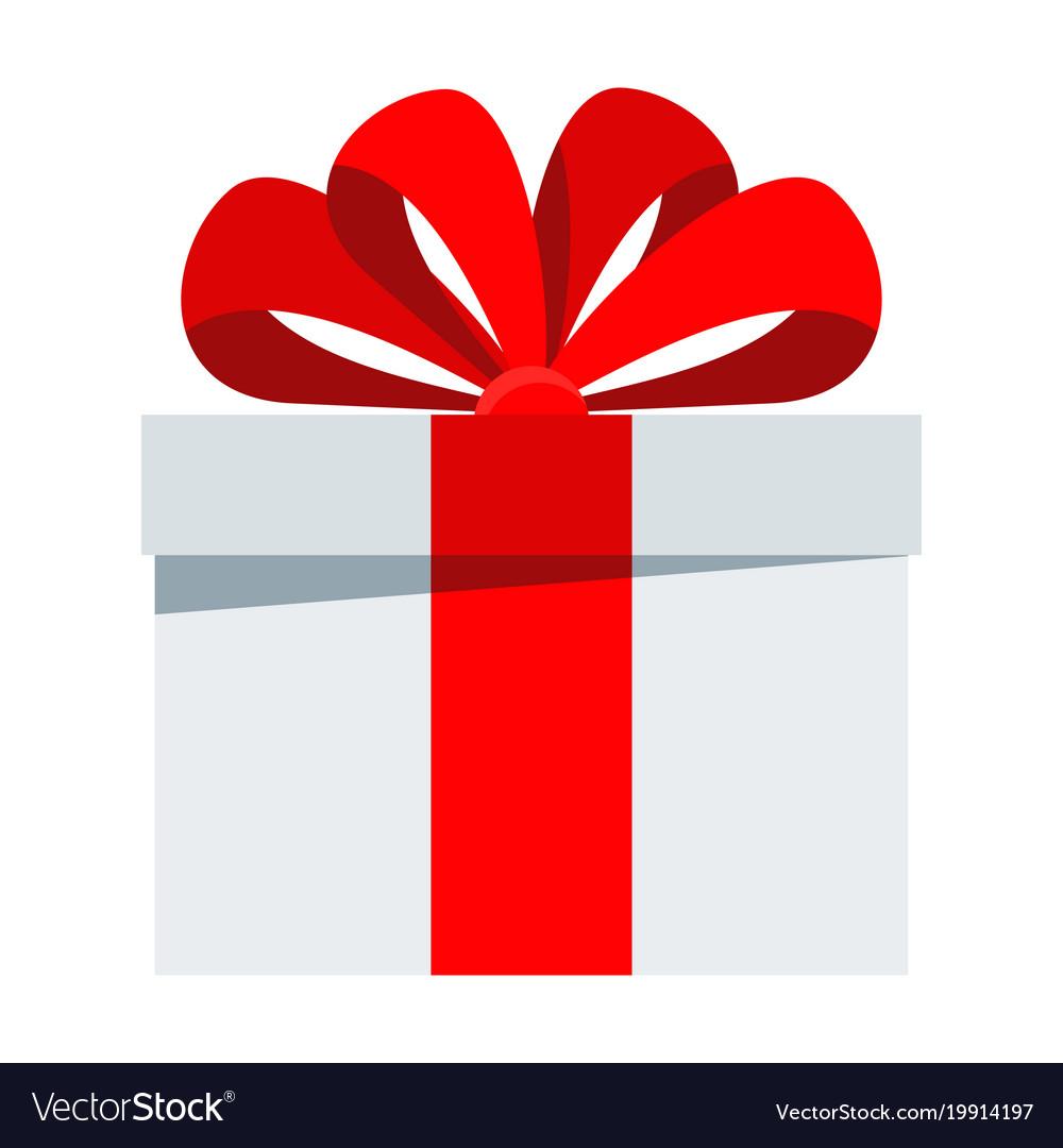birthday gift icon royalty free vector image vectorstock rh vectorstock com gift vector png gift vector ai