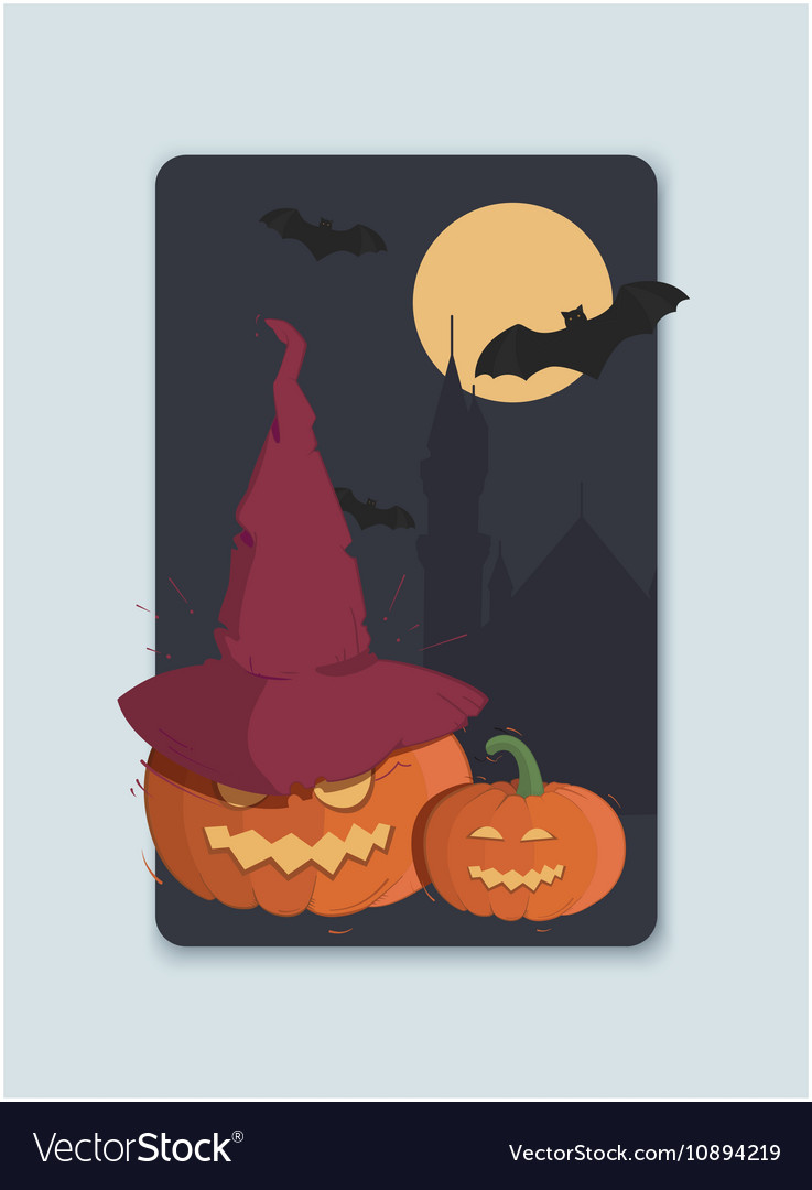 On the theme of halloween invitation royalty free vector on the theme of halloween invitation vector image stopboris Gallery