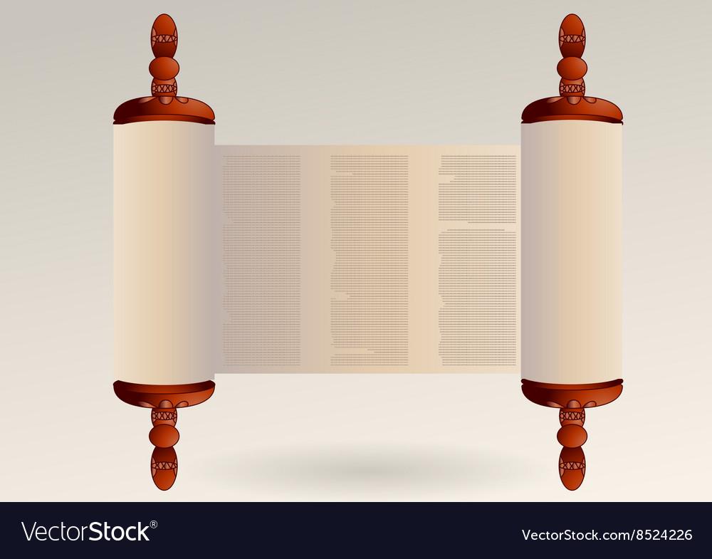 Torah vector image
