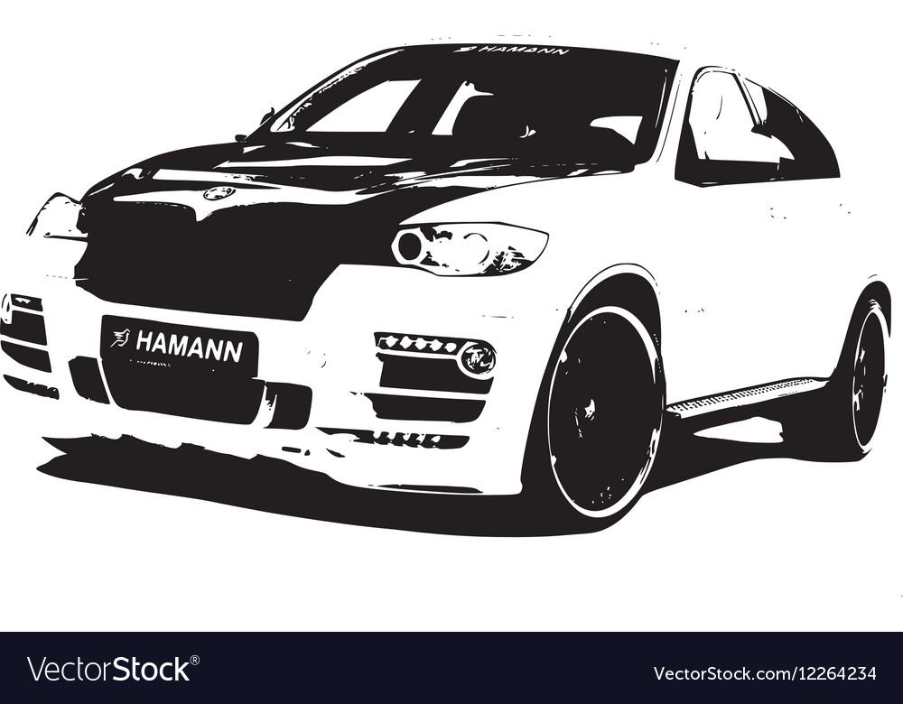 BMW Hamann vector image