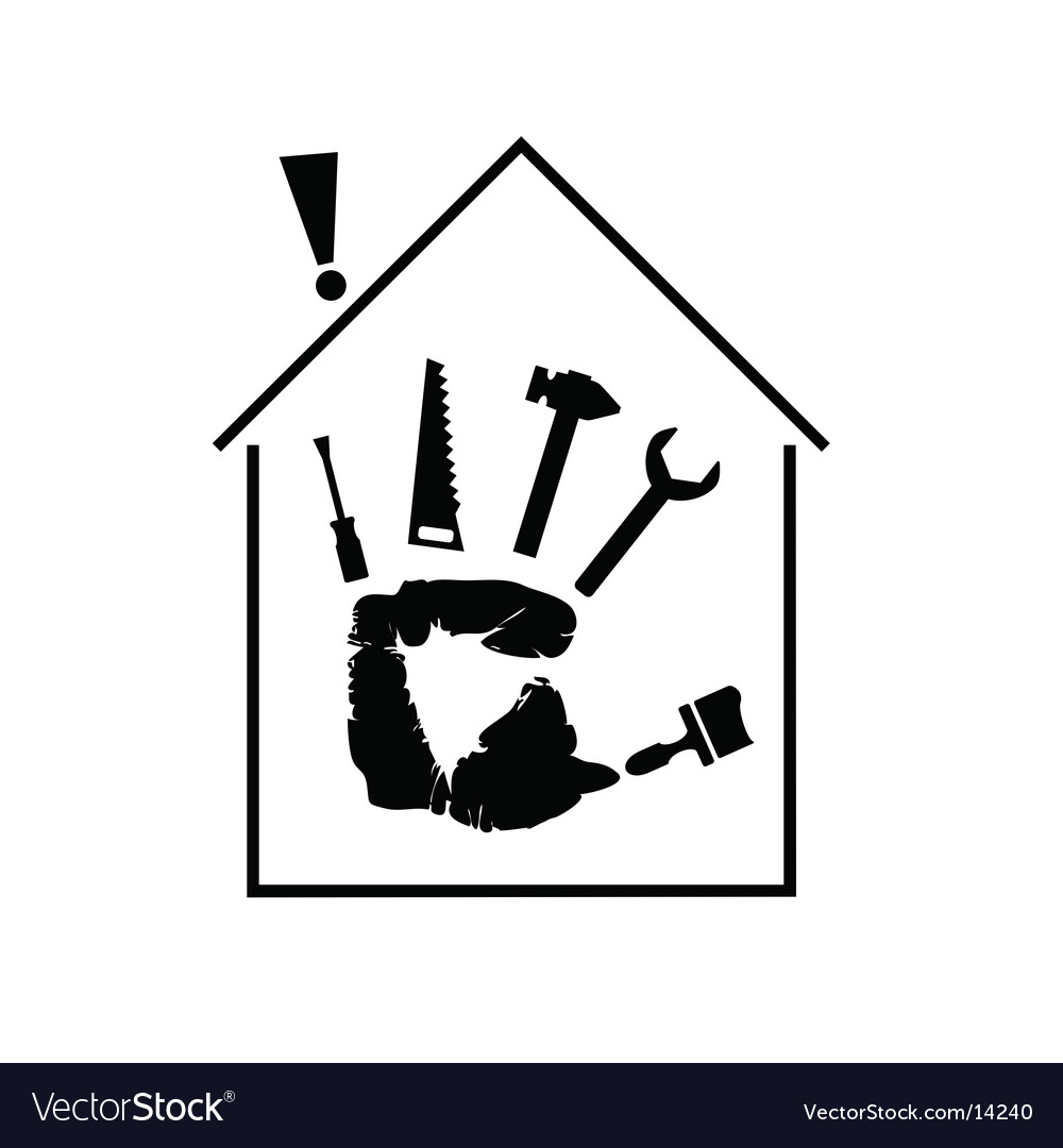 Master home Vector Image
