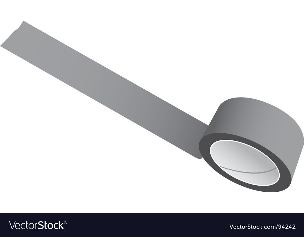 Tape vector image