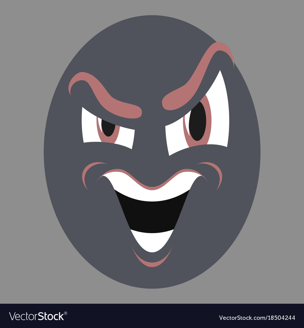 Icon on theme evil emotions