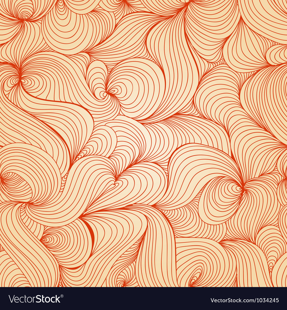 Retro waves texture seamless pattern Vector Image