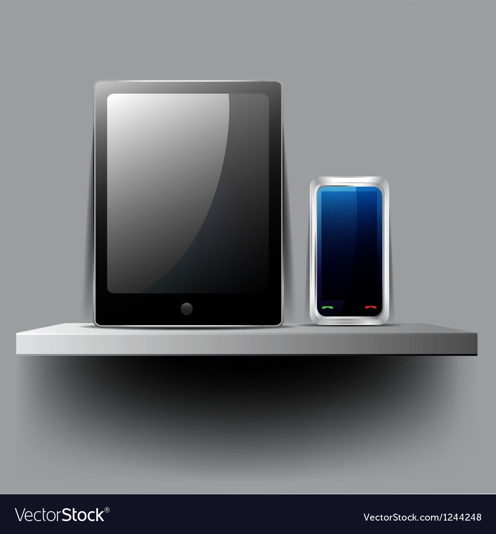 Modern technology vector image