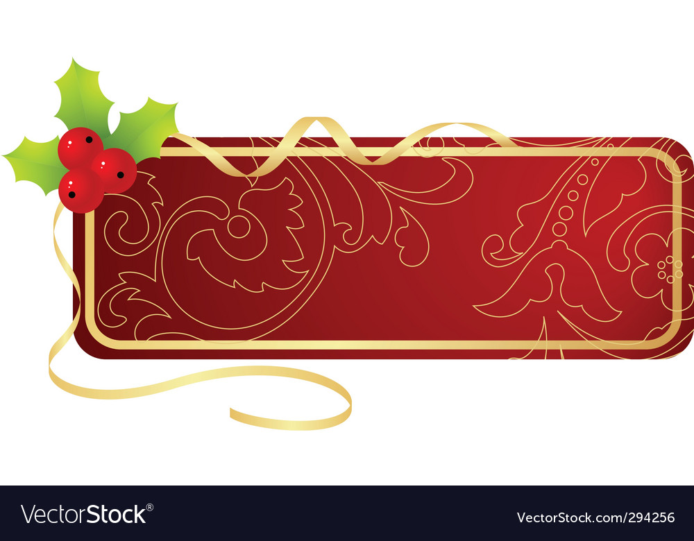 Christmas tablet vector image