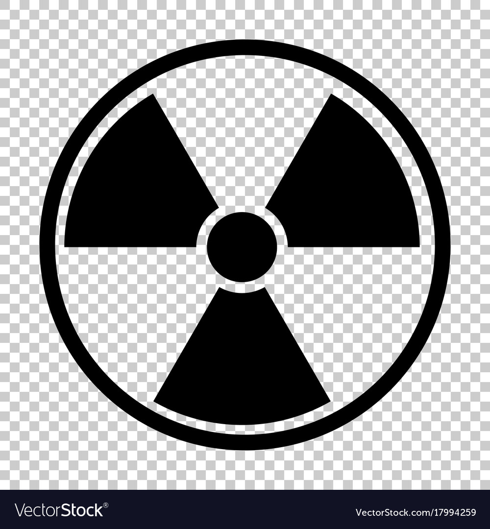 Radiation nuclear symbol royalty free vector image radiation nuclear symbol vector image biocorpaavc Gallery