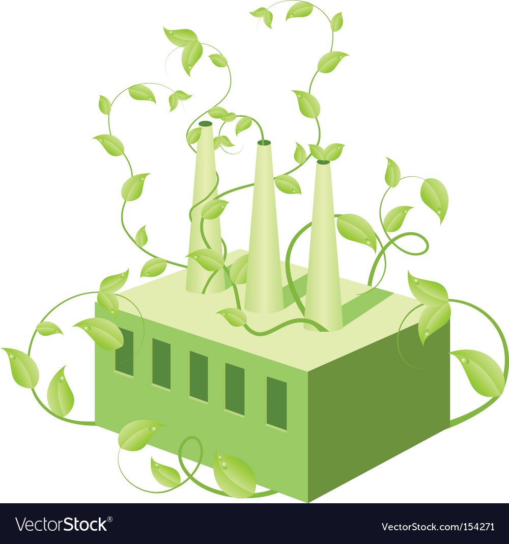 Environment conservation vector image