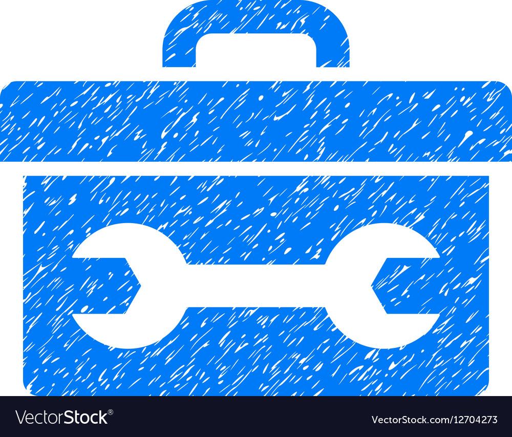 Toolbox Grainy Texture Icon vector image