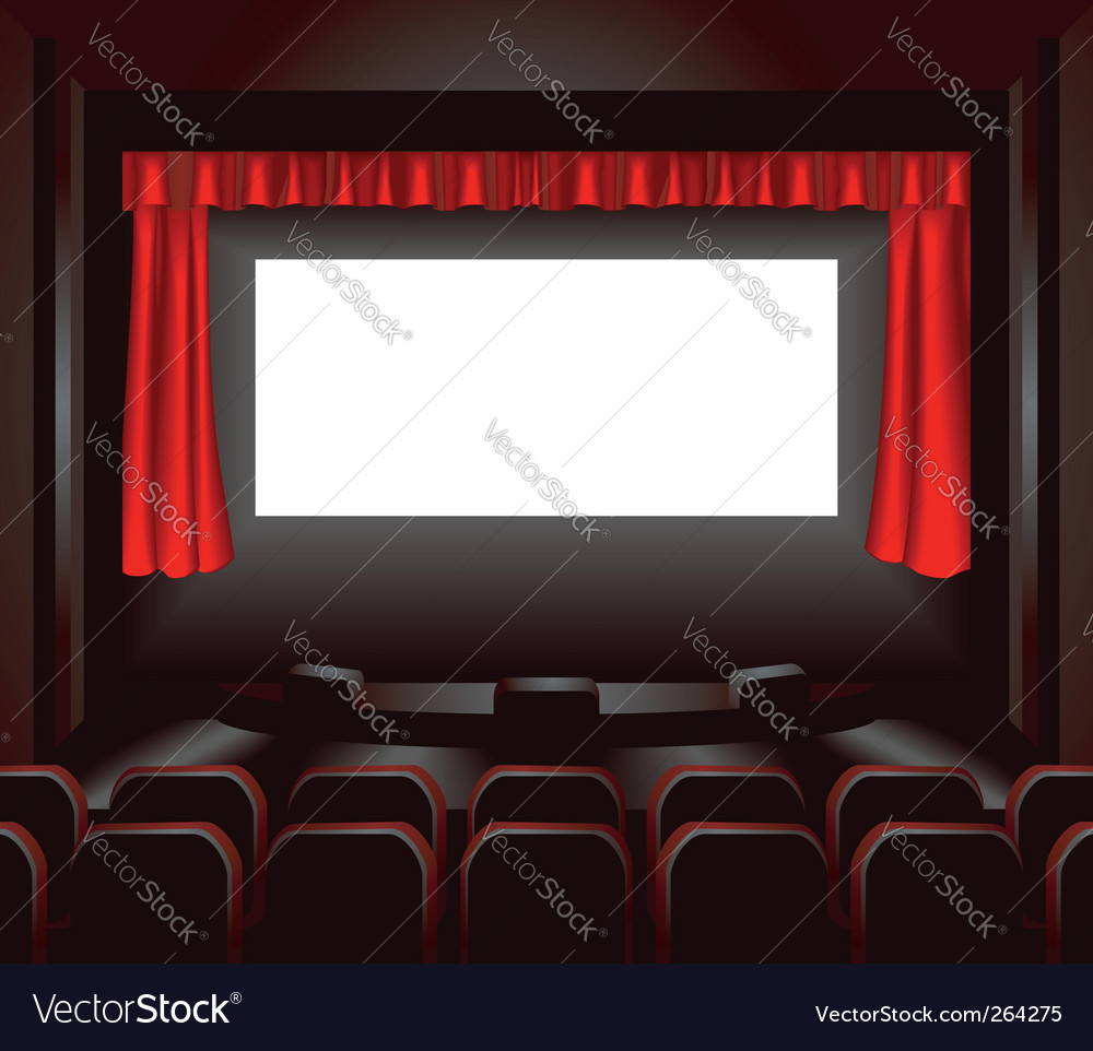 Cinema illustration vector image
