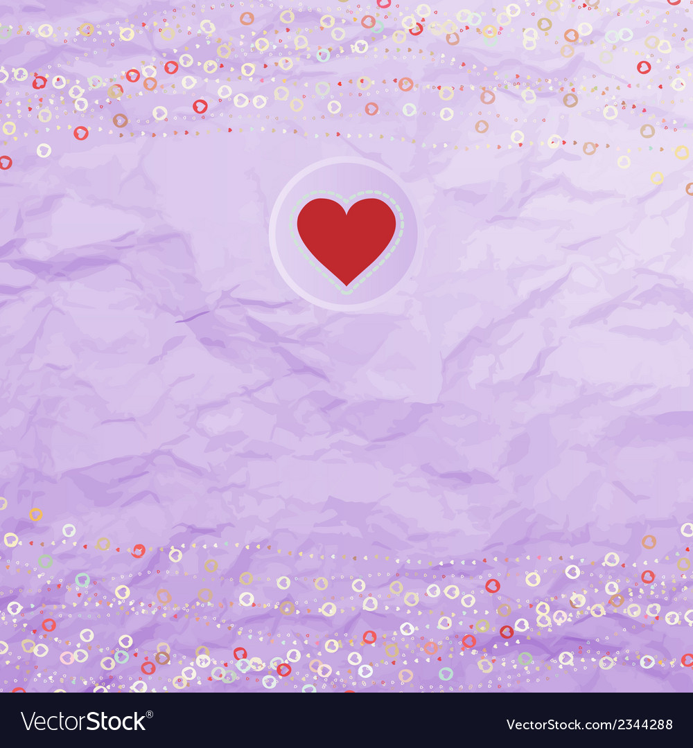 Vintage background with dots EPS 8 vector image