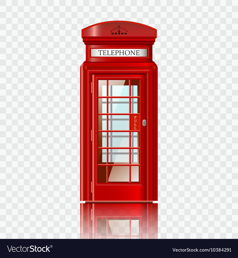 how to draw a telephone box