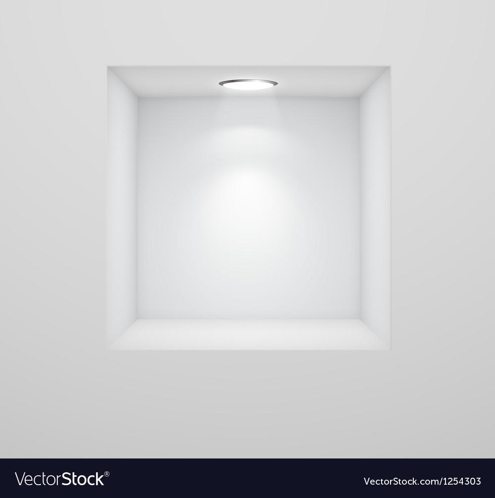 Nichawhitewall vector image