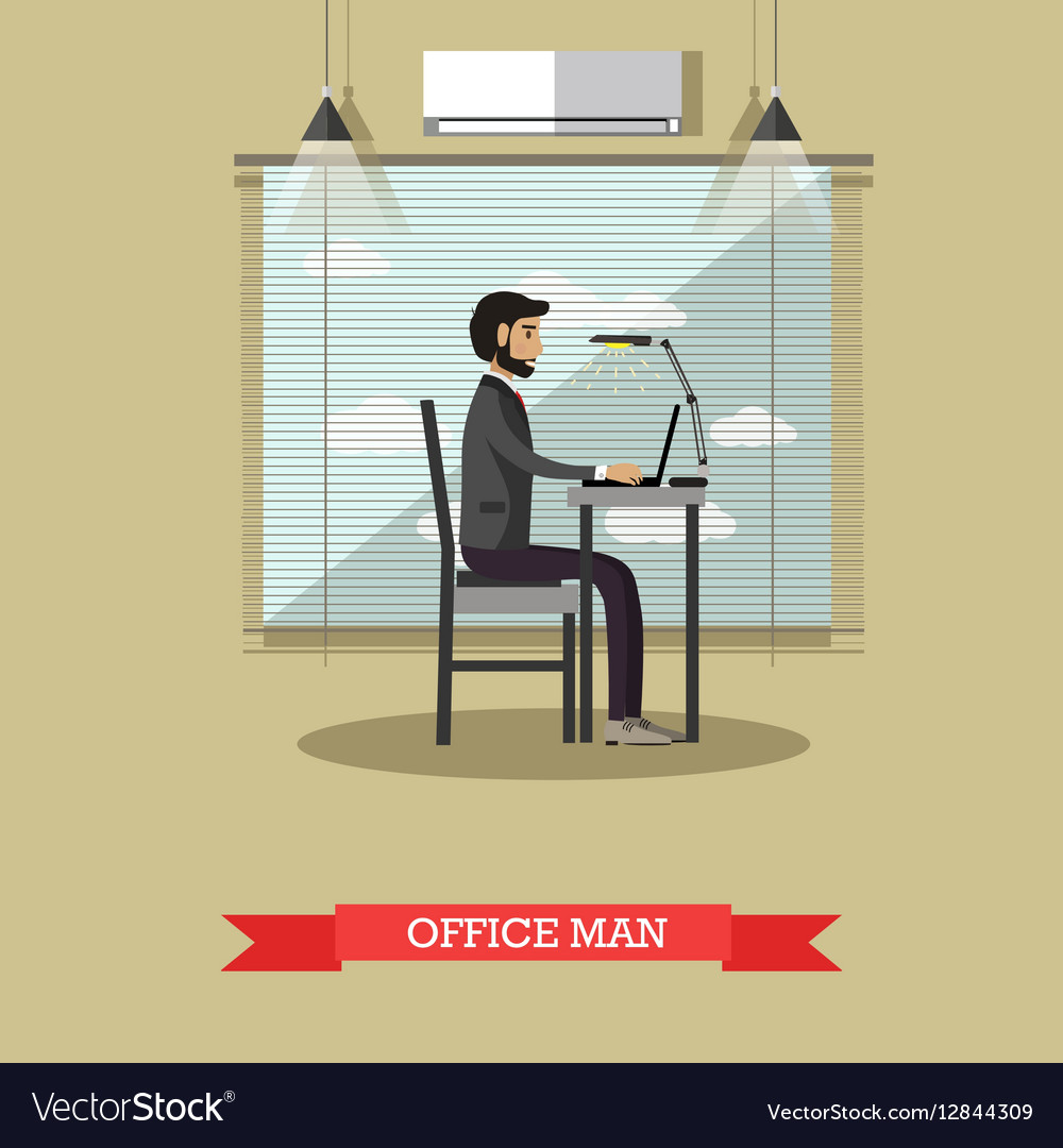 Modern gadgets in business concept vector image