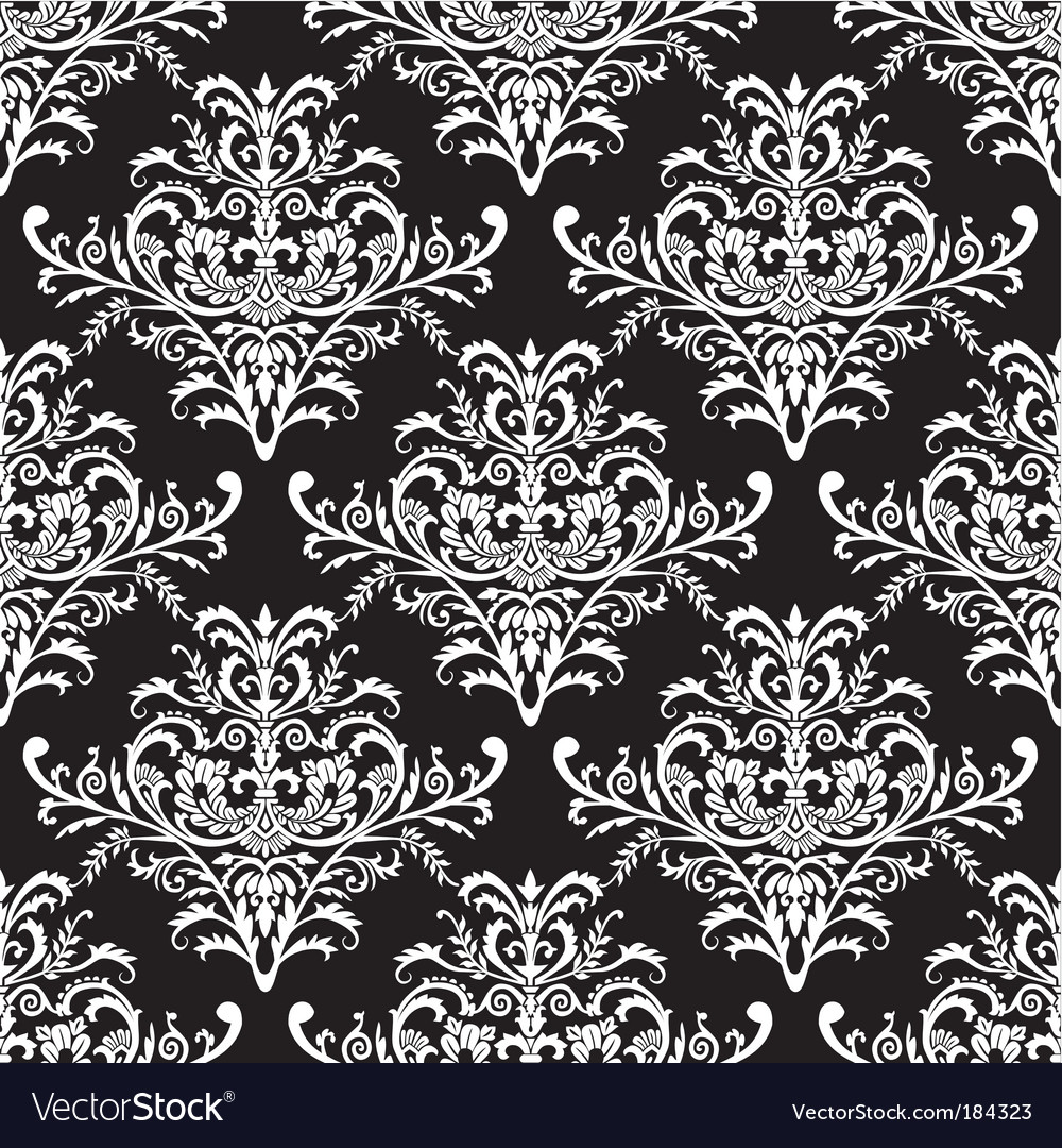 Baroque pattern vector image