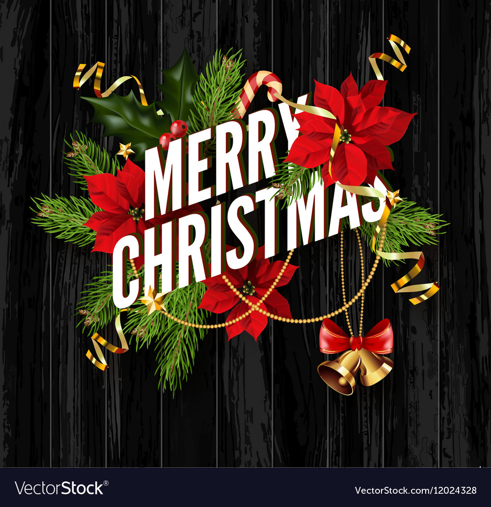Merry christmas greeting card template royalty free vector merry christmas greeting card template vector image m4hsunfo Gallery