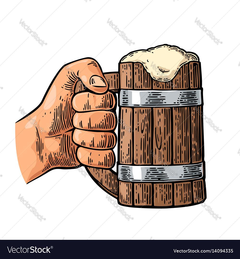 how to make a wooden mug