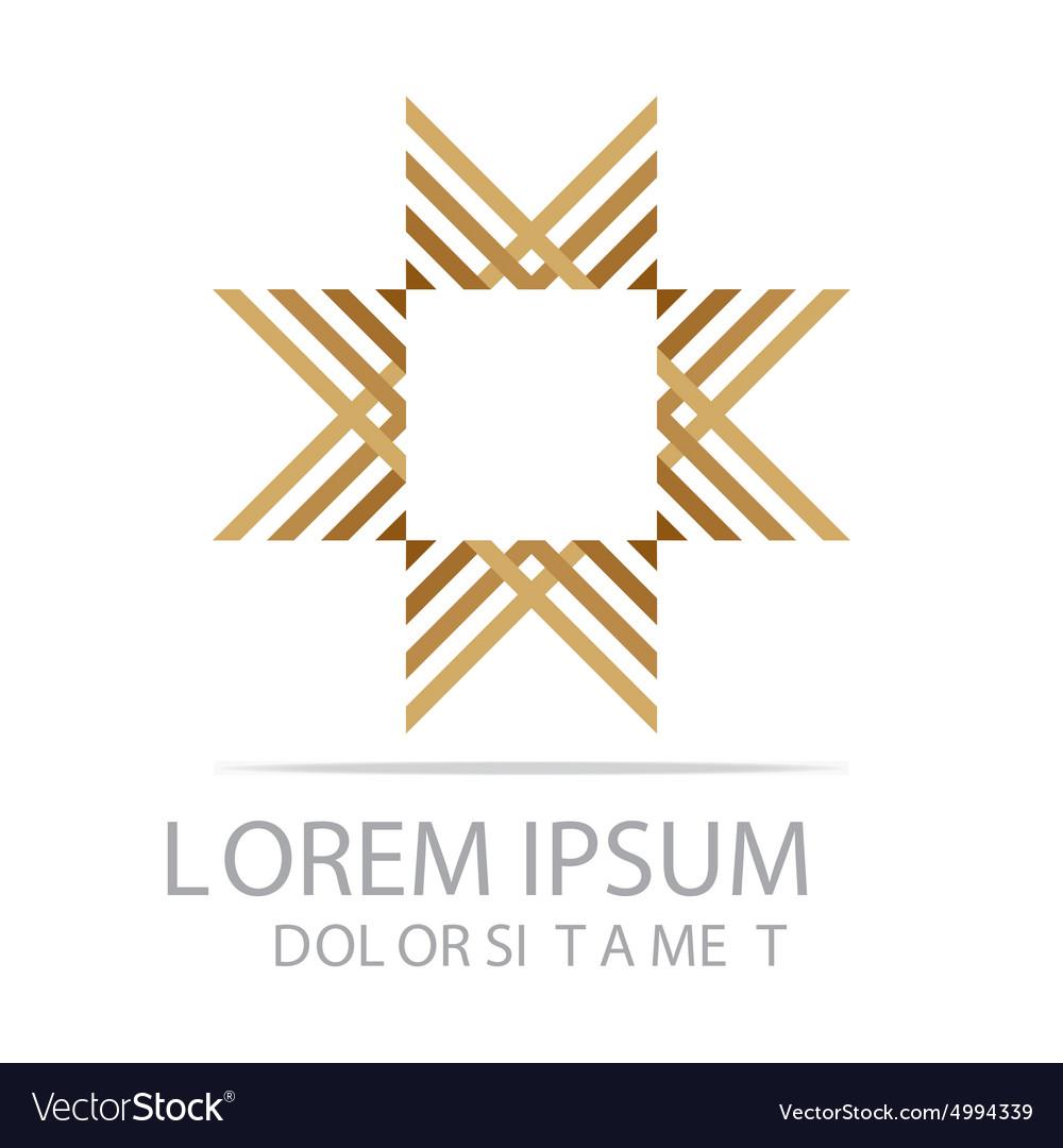 Symbol letter x logo design vector image