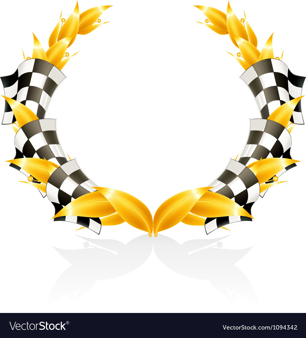Emblem Racing Vector Image