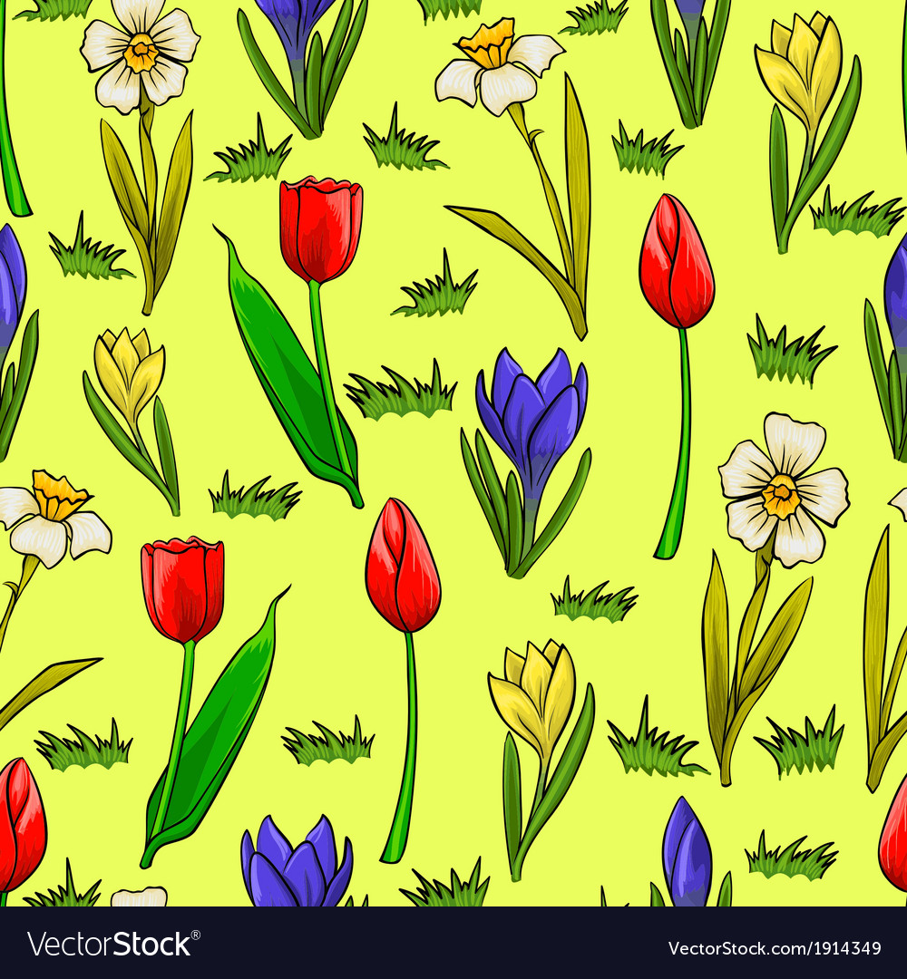 Spring Flower Cartoon Clip Art Free Vector For About