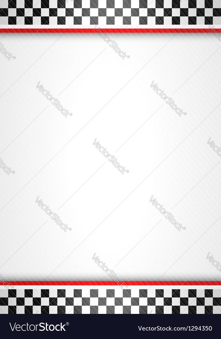 Racing background vertical vector image