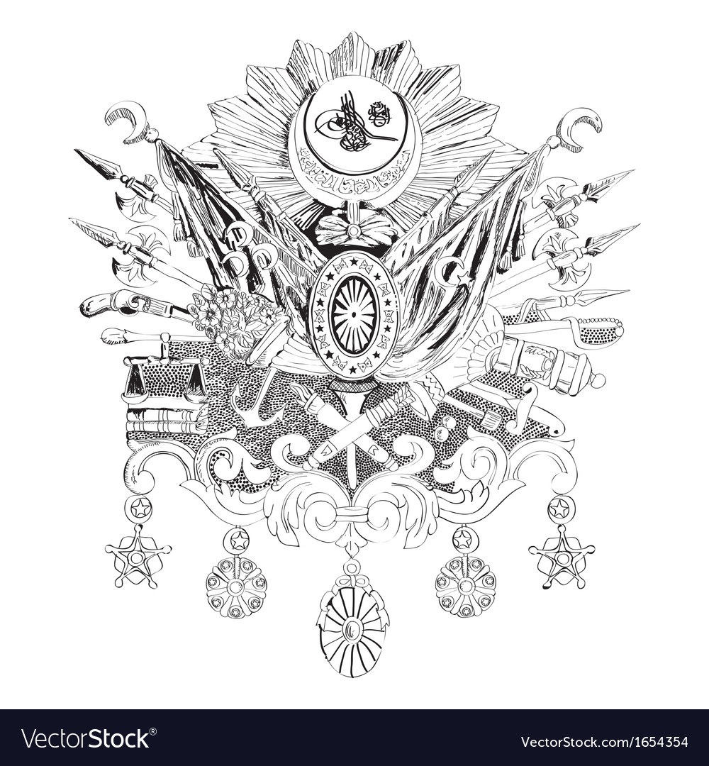 Ottoman Empire vector image