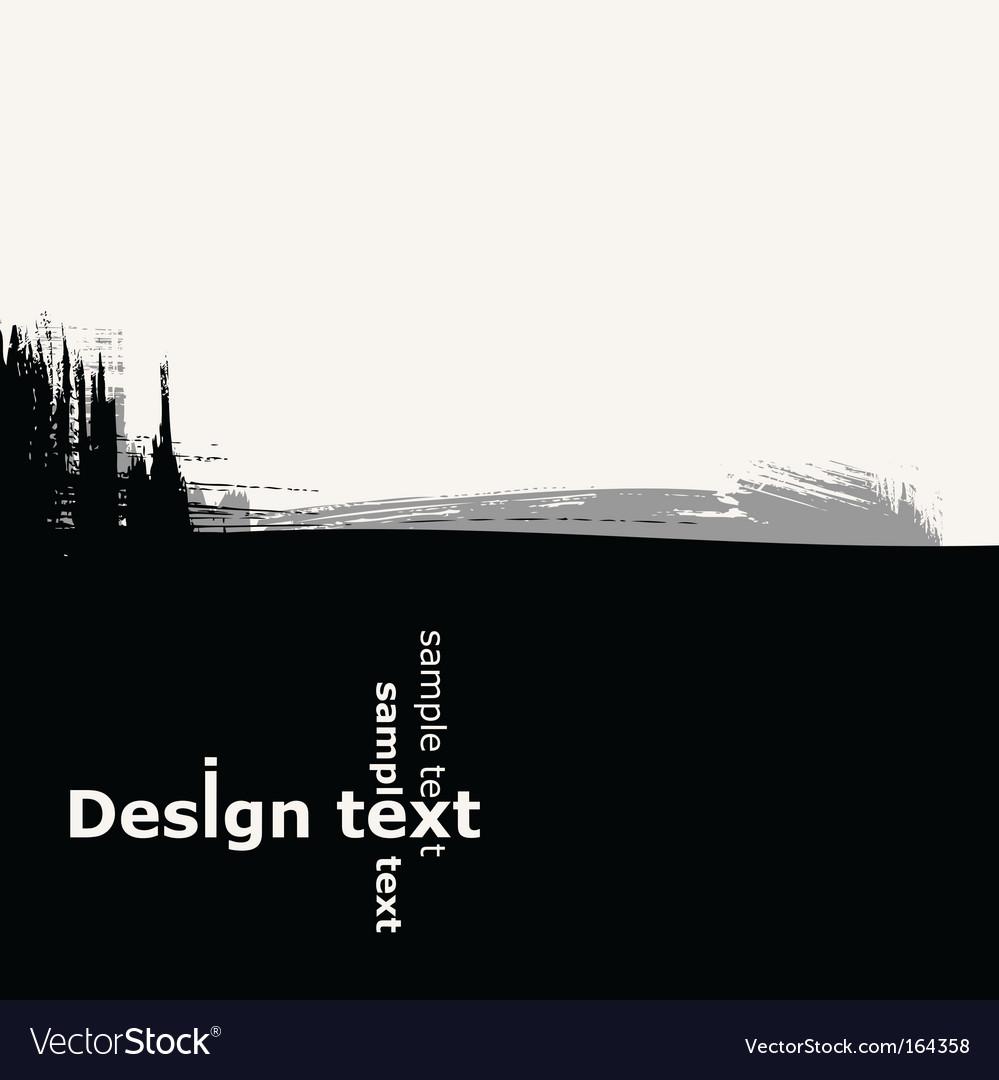 Design background Vector Image