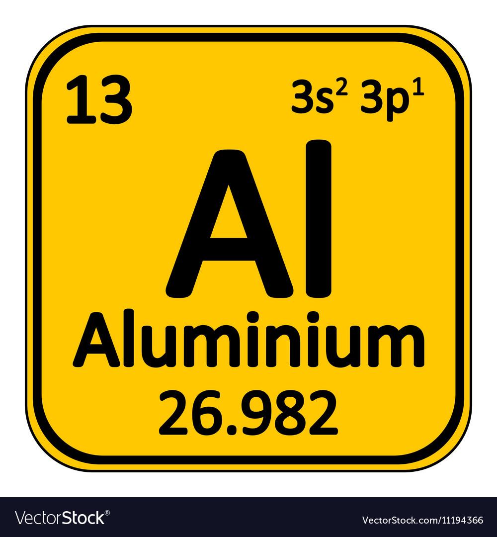 Aluminium periodic table gallery periodic table images periodic table element aluminium icon royalty free vector periodic table element aluminium icon vector image gamestrikefo gamestrikefo Image collections