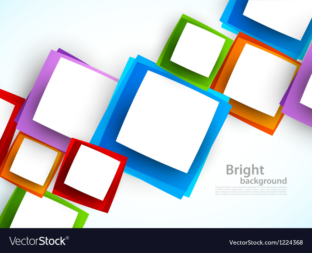 Color Abstract Vector Background Text Frame Stock Vector: Abstract Colorful Background Royalty Free Vector Image
