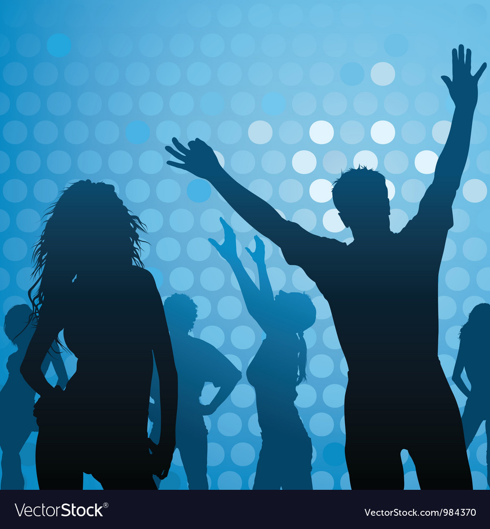 Dance Party - Night Club Vector Image