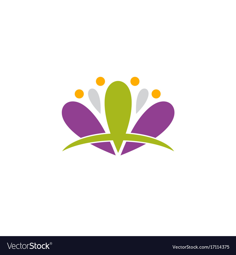 Lotus flower spa abstract logo royalty free vector image lotus flower spa abstract logo vector image izmirmasajfo Gallery