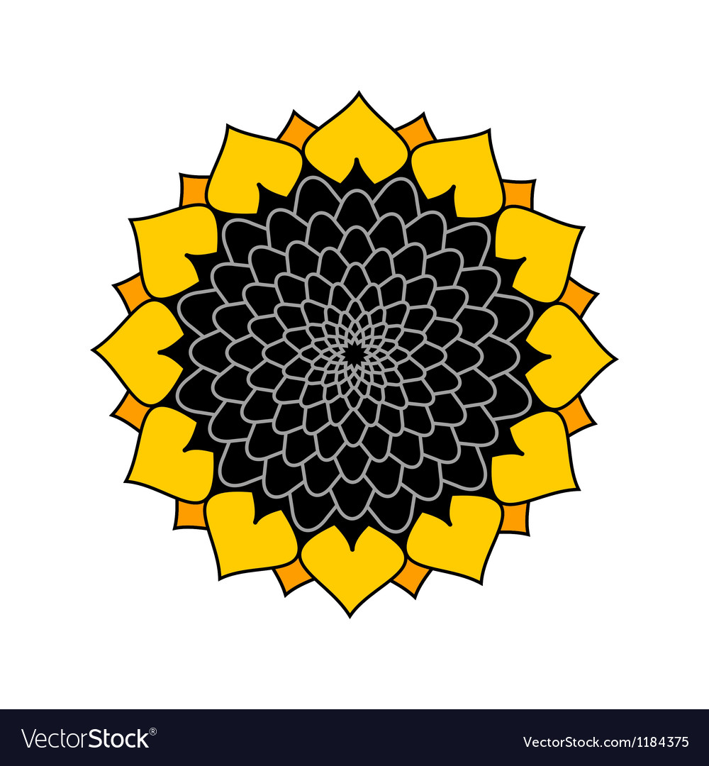Sunflower logo royalty free vector image vectorstock sunflower logo vector image jeuxipadfo Gallery