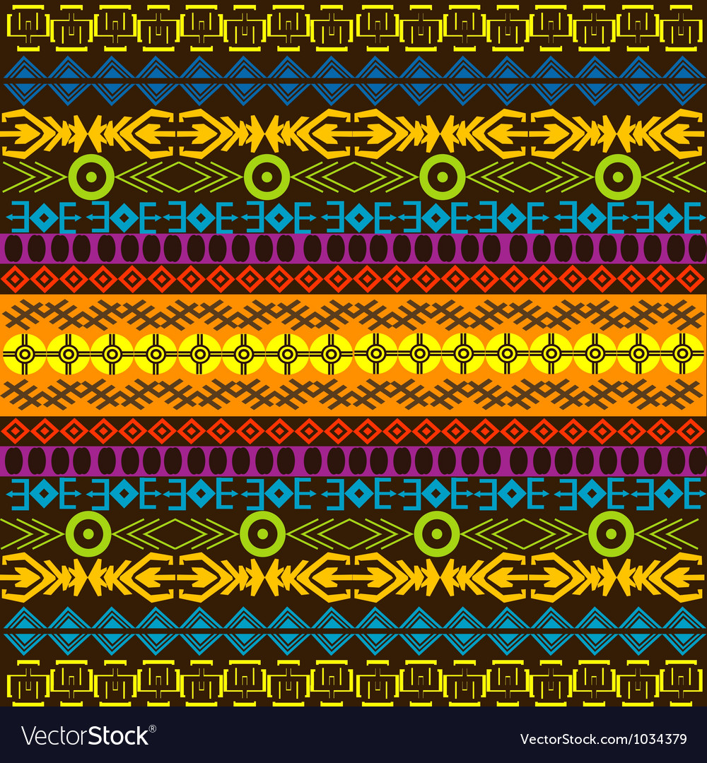 African colored background vector image