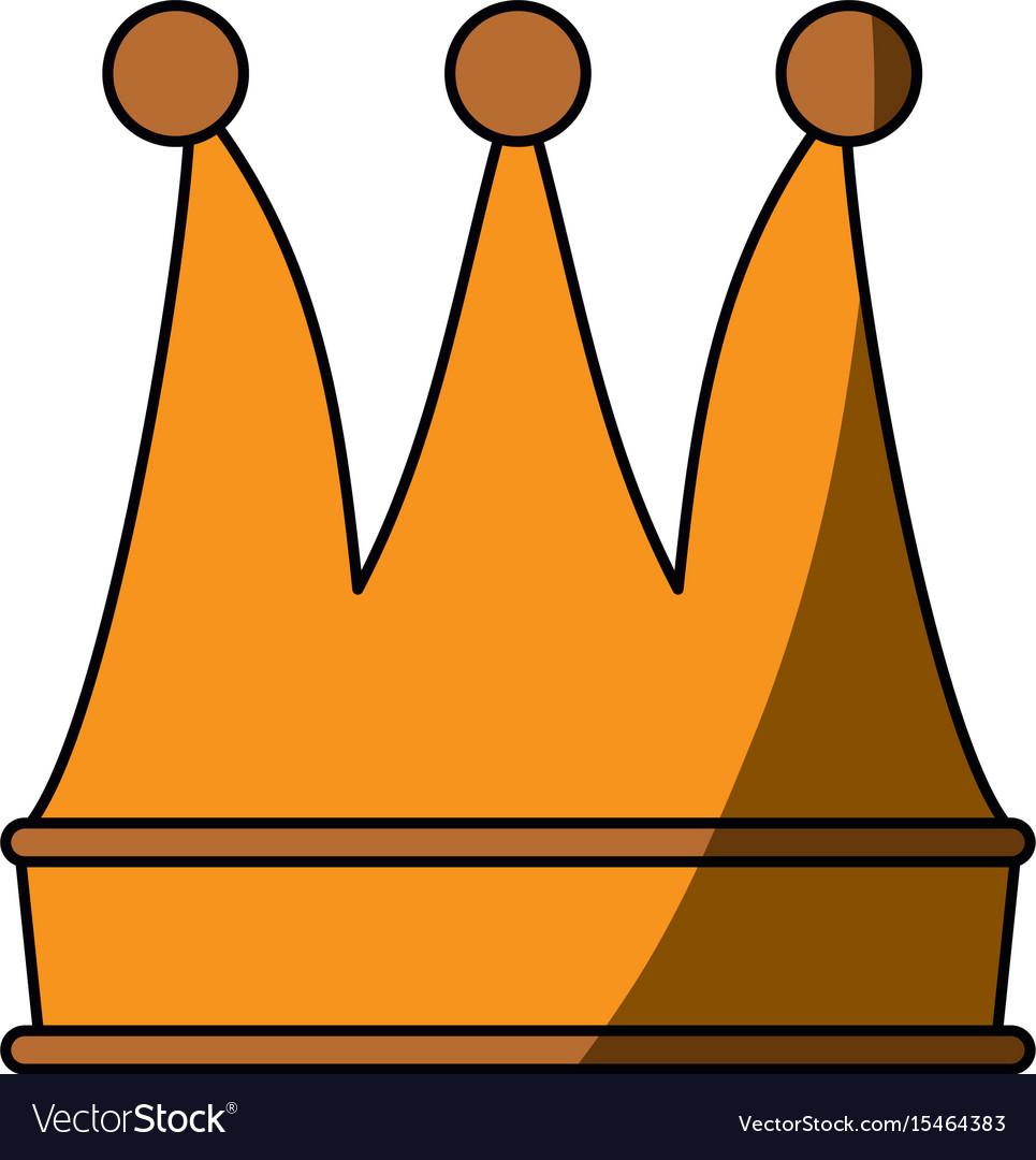 luxury king crown royalty free vector image vectorstock rh vectorstock com king crown vector pictures king crown vector art