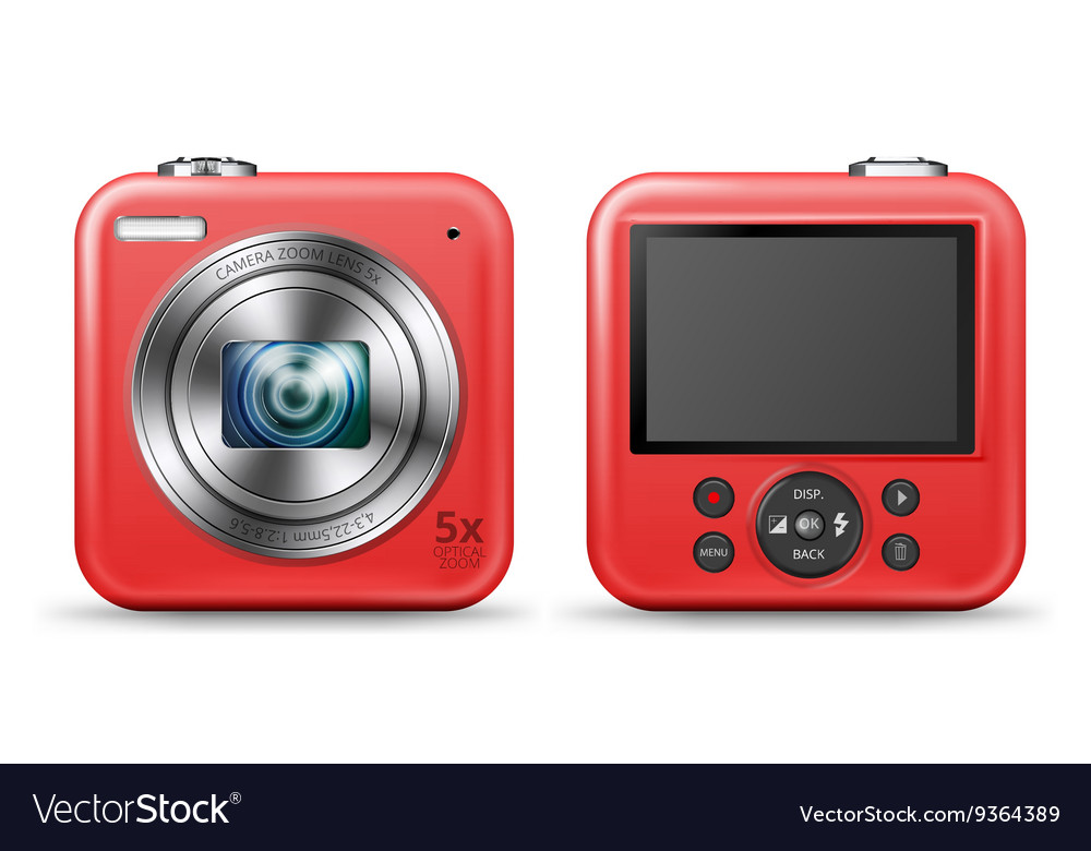 Easy camera icon vector image