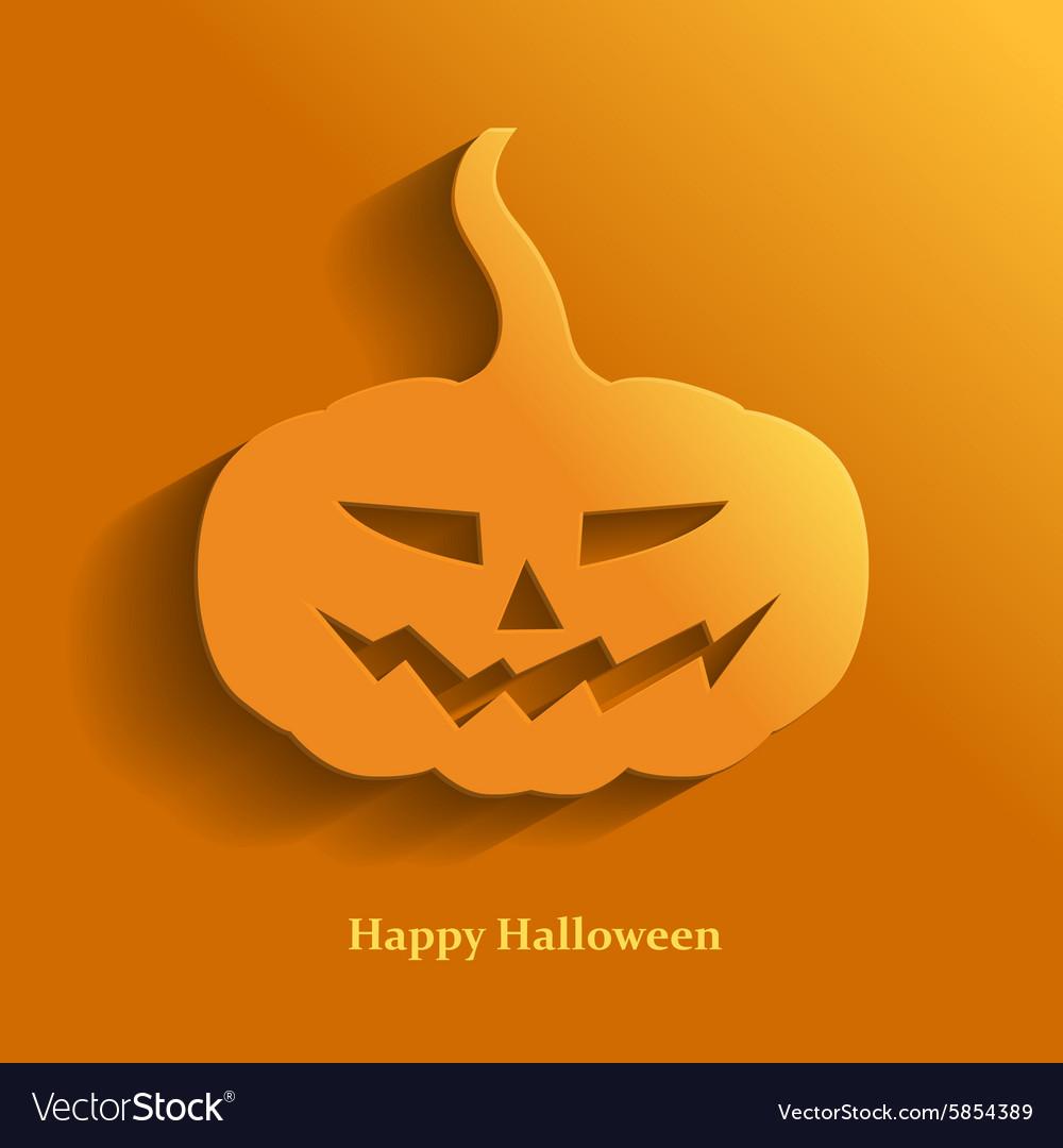 Pumpkin flat vector image