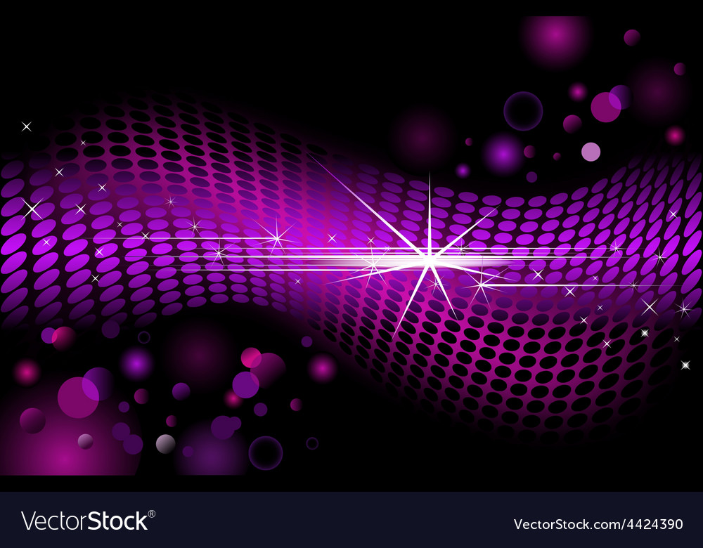 Modern background with dots vector image