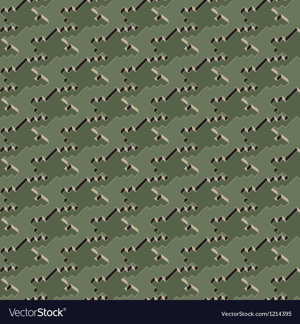Houndstooth vector image