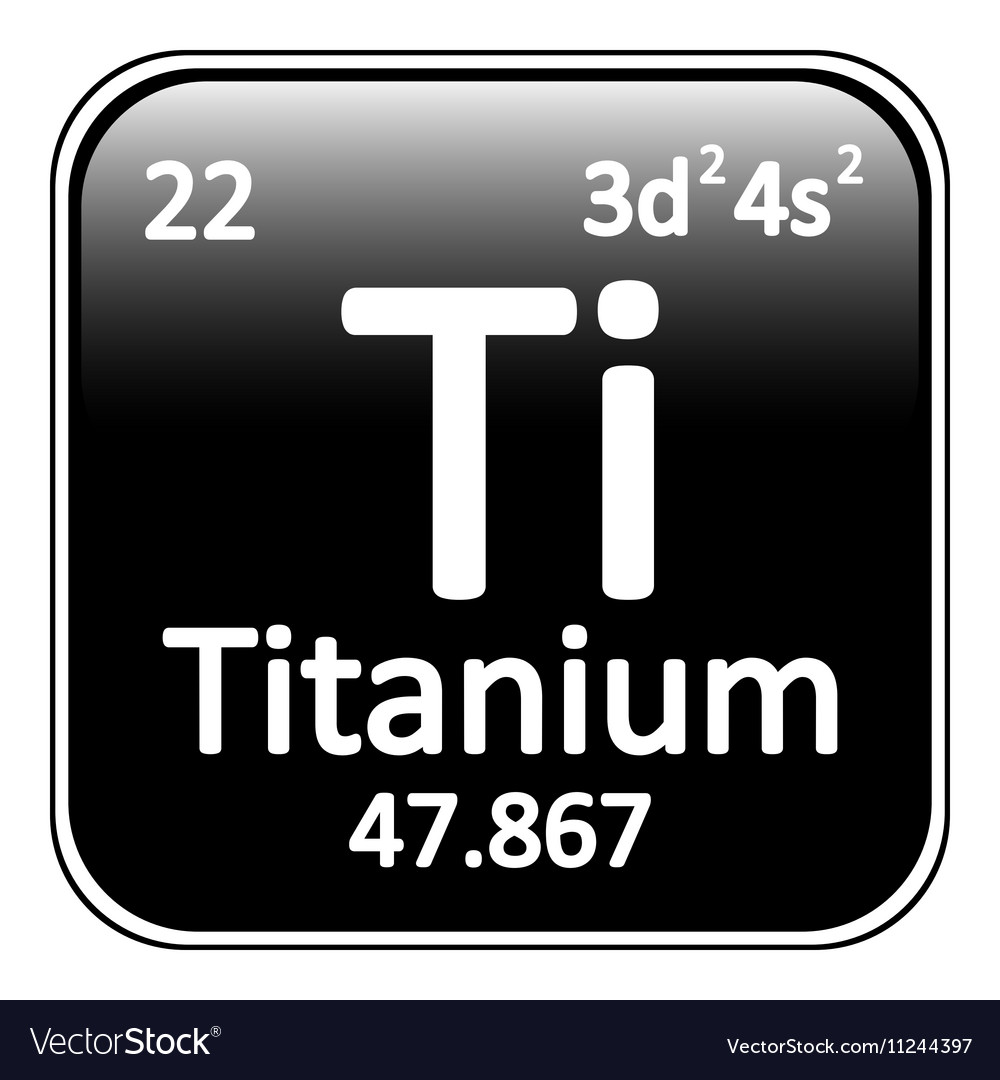 Periodic table element titanium icon royalty free vector periodic table element titanium icon vector image urtaz Image collections