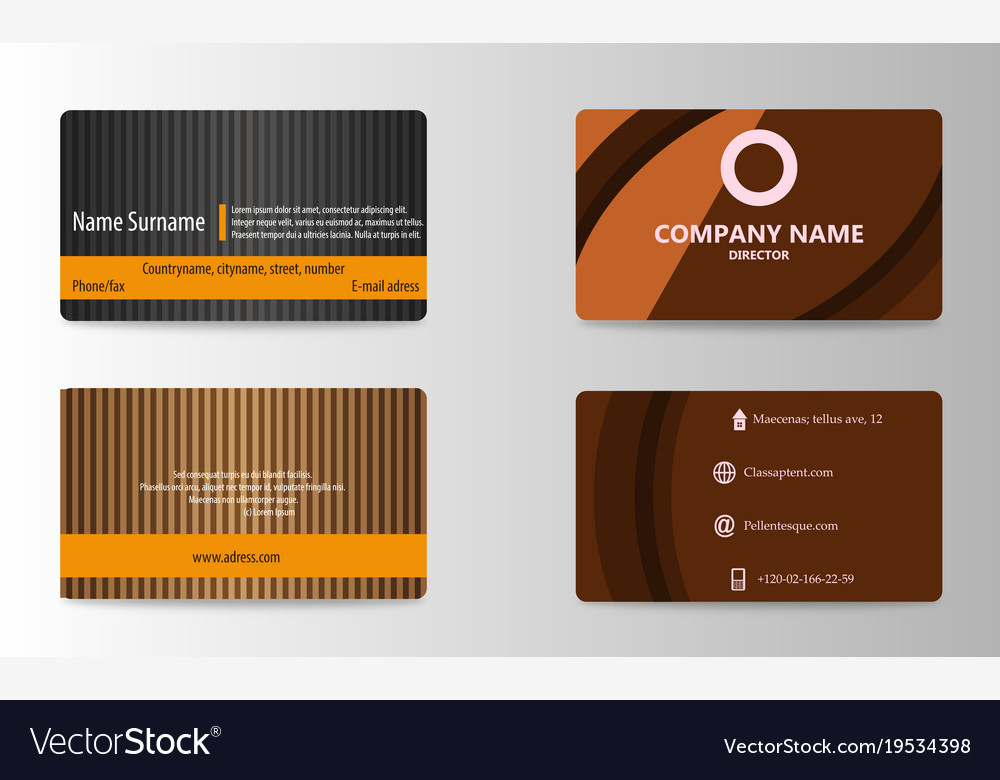 two sided business cards - Ideal.vistalist.co