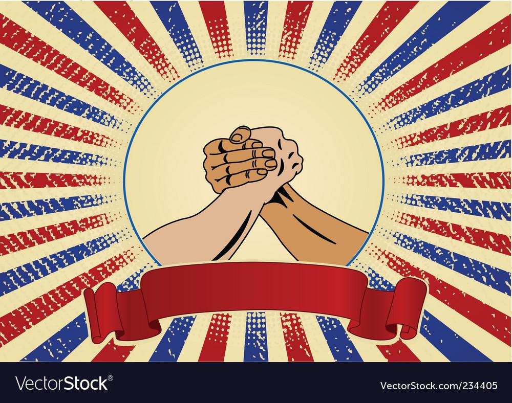 Labor day symbol vector image