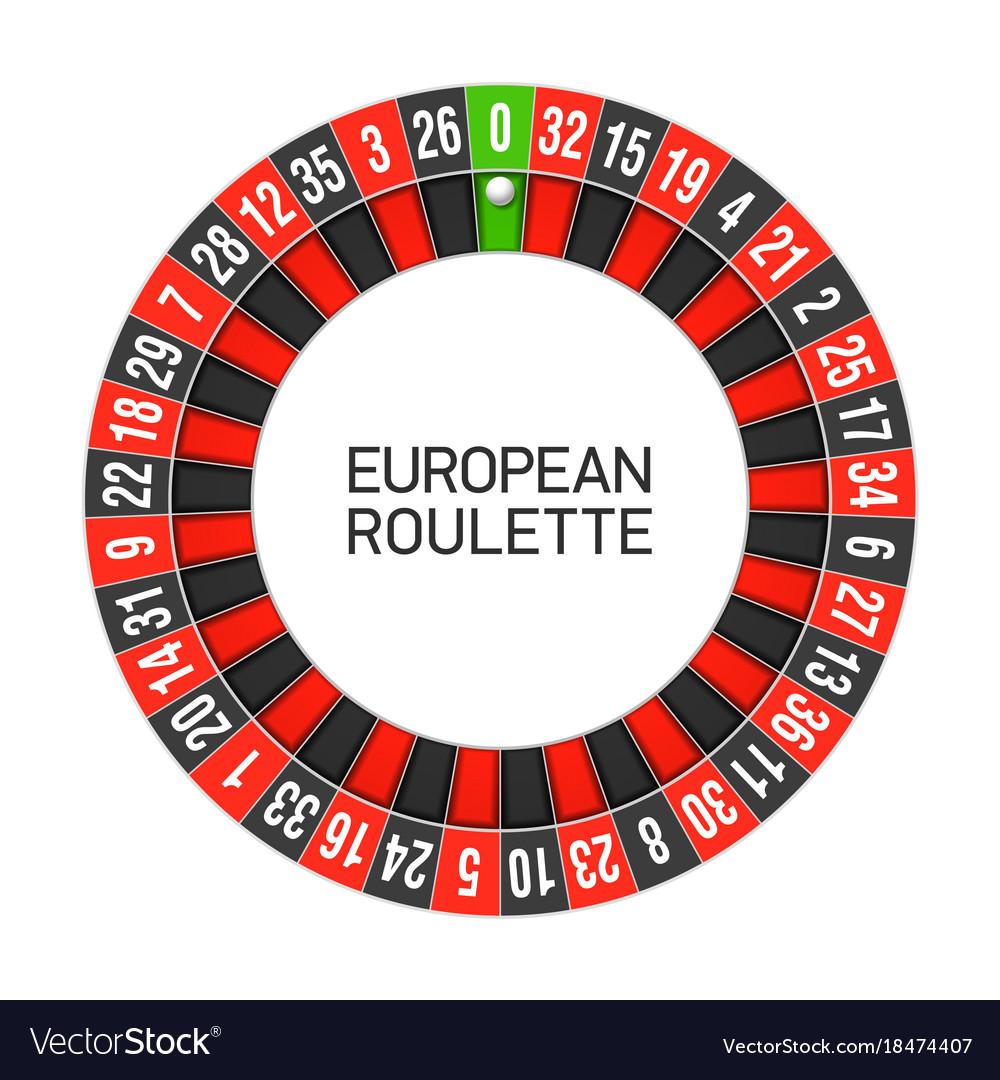 00 on roulette wheel