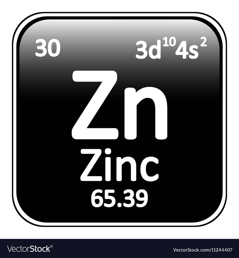 Periodic table element zinc icon royalty free vector image periodic table element zinc icon vector image gamestrikefo Image collections