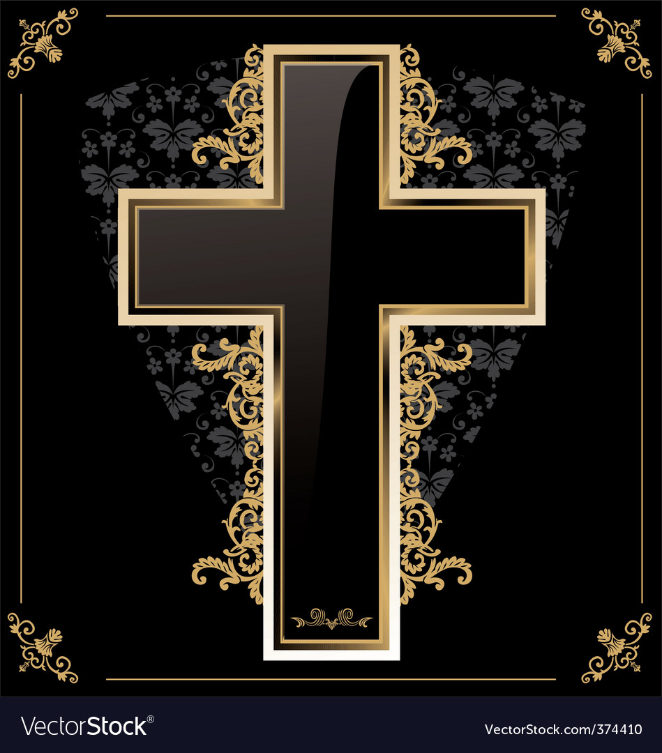 Cross Wallpapers Free: Cross Background Royalty Free Vector Image