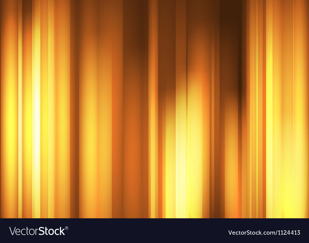 Orange Wave abstract backgrounds vector image