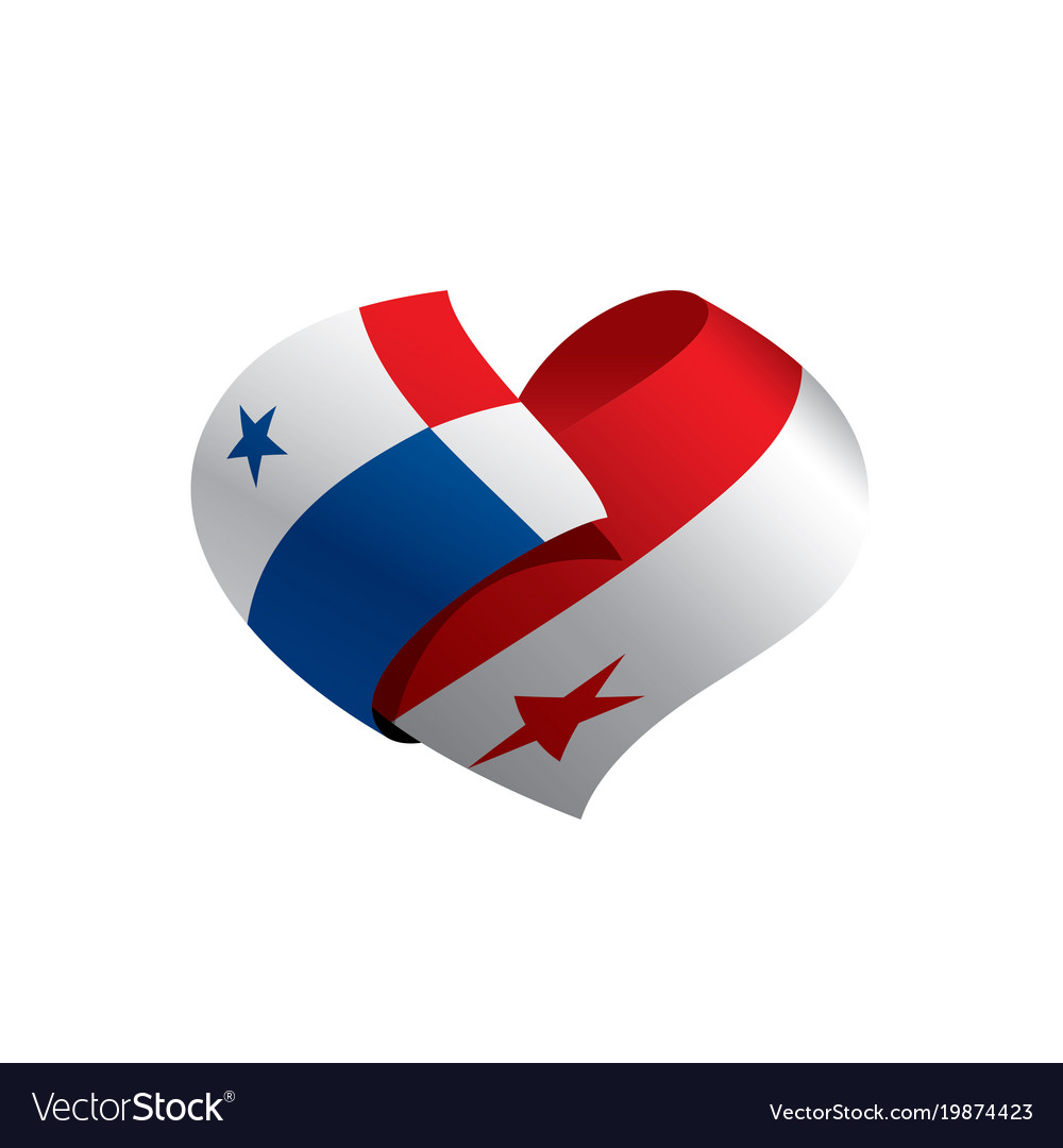 Panama Flag Royalty Free Vector Image VectorStock - Panama flag